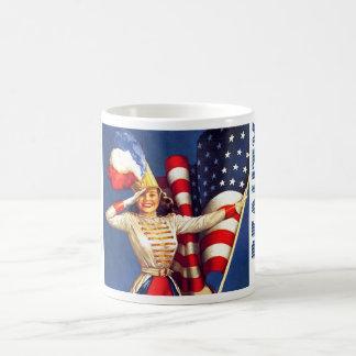 American Beauty.Retro Pin-up Design Gift Mugs