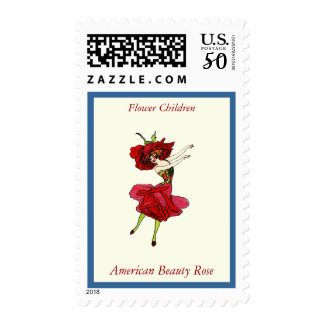 American Beauty Rose Postage
