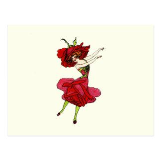 American Beauty Rose Postcard