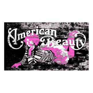 american beauty secrets refer a friend business card