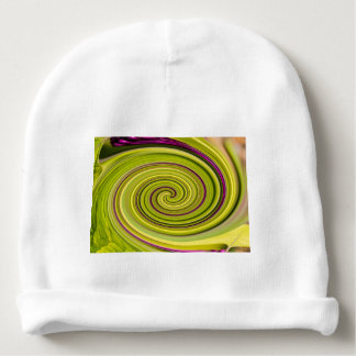 American Beautyberry Abstract Baby Beanie