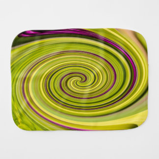 American Beautyberry Abstract Baby Burp Cloth
