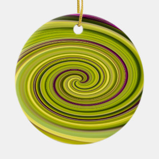American Beautyberry Abstract Ceramic Ornament