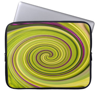 American Beautyberry Abstract Computer Sleeve