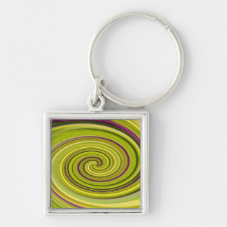 American Beautyberry Abstract Keychain