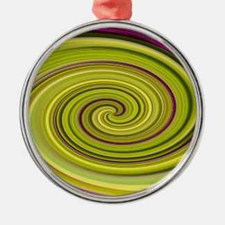 American Beautyberry Abstract Metal Ornament