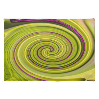 American Beautyberry Abstract Placemat
