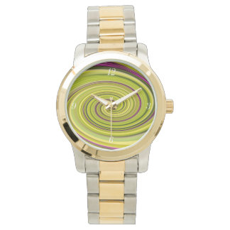 American Beautyberry Abstract Wrist Watch