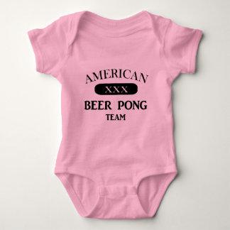 American Beer Pong Team Baby Bodysuit