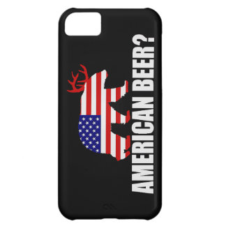 American Beer? US Flag Bear With Antlers iPhone 5C Case