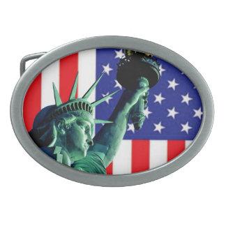 American belt buckle