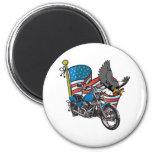American Bike Eagle Fridge Magnets