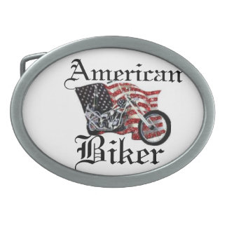 american bike oval belt buckle