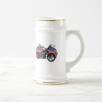 American Biker Beer Stein