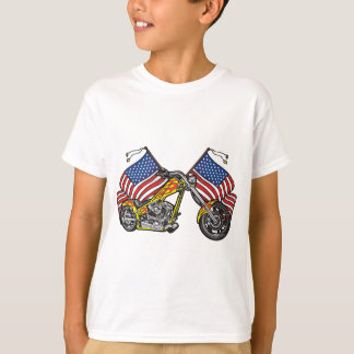 American Biker Chopper T-Shirt