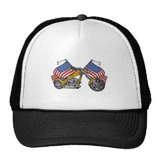 American Biker Chopper Trucker Hat