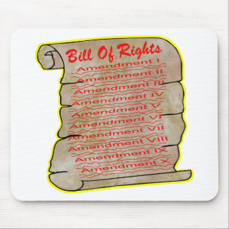 American Bill Of Rights Mousepads