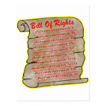 American Bill Of Rights Post Card