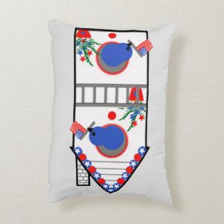 """American Birdhouse"" Accent Pillow"