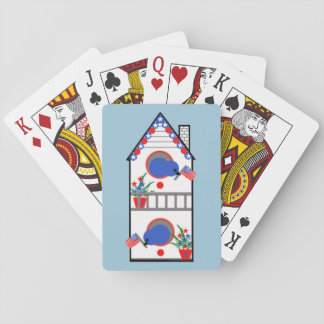 """""""American Birdhouse"""" Playing Cards, Standard Card Deck"""