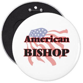 American Bishop 6 Inch Round Button