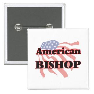 American Bishop 2 Inch Square Button