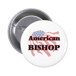 American Bishop 2 Inch Round Button