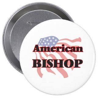 American Bishop 4 Inch Round Button