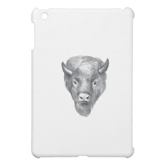 American Bison Head Watercolor iPad Mini Cover