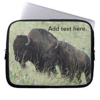 American Bison Laptop Computer Sleeve