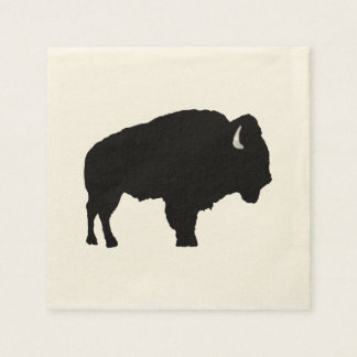 American Bison Paper Napkin