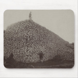 American Bison Skulls to be Ground for Fertilizer Mouse Pad