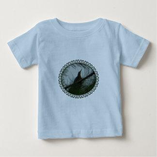 American Bittern Bird Hiding in Pines Trees Framed T Shirt