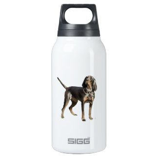 American Black and Tan Coon Hound Insulated Water Bottle