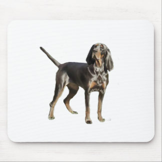 American Black and Tan Coon Hound Mouse Pad