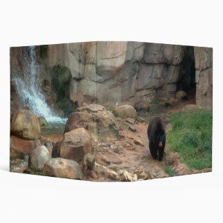 American Black Bear Binder