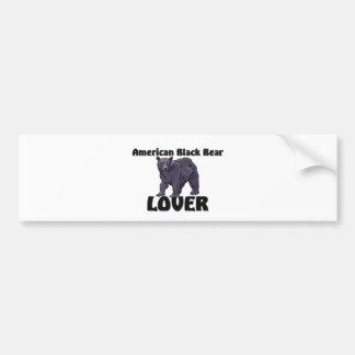 American Black Bear Lover Bumper Sticker
