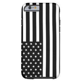 American Black & White Flag iPhone 6 Tough iPhone 6 Case