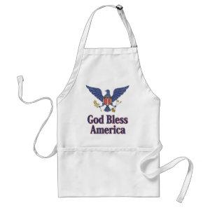 American Blue Eagle Apron