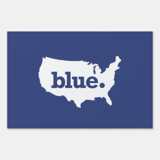 American Blue States Signs