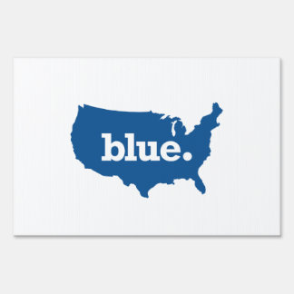 American Blue States Lawn Signs
