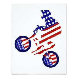 American BMX Rider Invitation