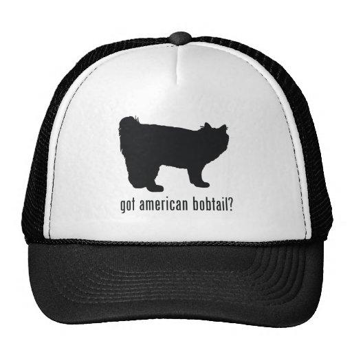 American Bobtail Cat Trucker Hat