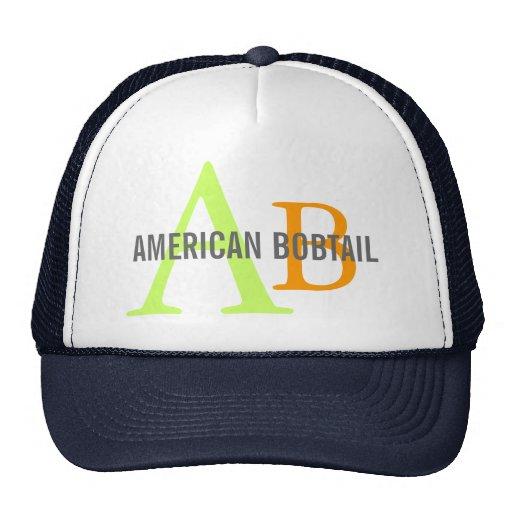 American Bobtail Monogram Design Hat