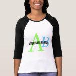 American Bobtail Monogram Design T-Shirt