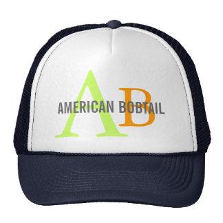 American Bobtail Monogram Design Trucker Hat