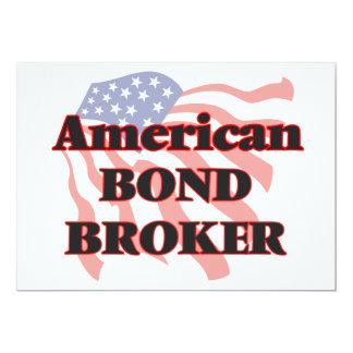 American Bond Broker 5x7 Paper Invitation Card