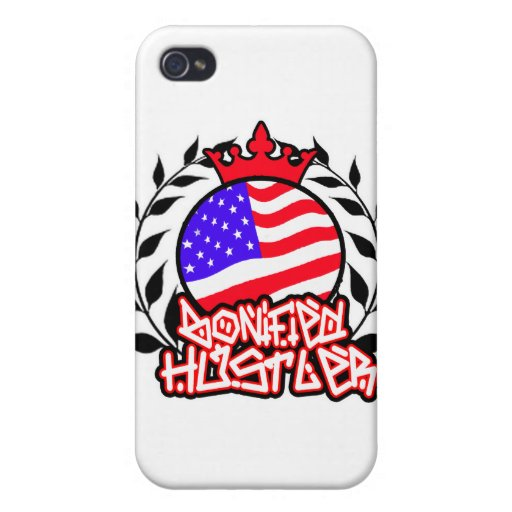 American Bonified Hustler -- Apparel Cases For iPhone 4