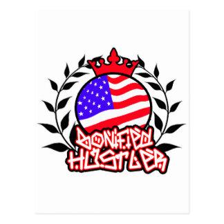 American Bonified Hustler -- Apparel Postcard