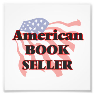 American Book Seller Photo Print